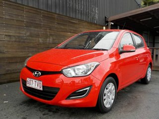 2013 Hyundai i20 PB MY14 Active Red 4 Speed Automatic Hatchback