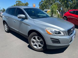 2010 Volvo XC60 DZ MY11 Geartronic AWD Silver 6 Speed Sports Automatic Wagon.