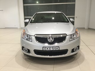 2013 Holden Cruze JH Series II MY14 CDX Silver 6 Speed Sports Automatic Sedan