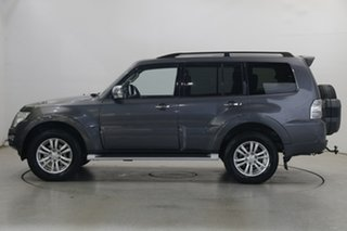 2015 Mitsubishi Pajero NX MY15 GLX Silver 5 Speed Sports Automatic Wagon.