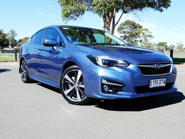 Used Subaru Impreza G5 MY18 2.0i-S CVT AWD Glenelg, 2017 Subaru Impreza G5 MY18 2.0i-S CVT AWD Quartz Blue 7 Speed Constant Variable Sedan