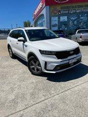 2020 Kia Sorento MQ4 MY21 S AWD Clear White 8 Speed Sports Automatic Dual Clutch Wagon.