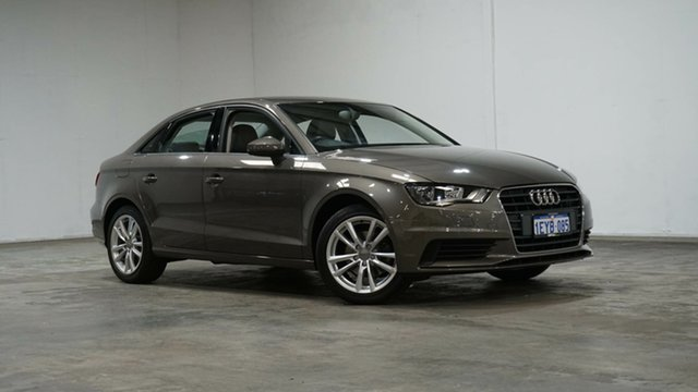 Used Audi A3 8V MY15 Attraction S Tronic Welshpool, 2015 Audi A3 8V MY15 Attraction S Tronic Bronze 7 Speed Sports Automatic Dual Clutch Sedan