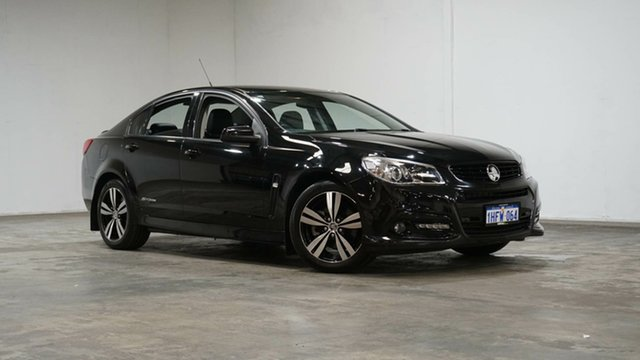 Used Holden Commodore VF MY15 SS Storm Welshpool, 2015 Holden Commodore VF MY15 SS Storm Black 6 Speed Sports Automatic Sedan