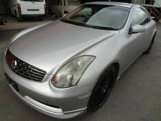 2004 Nissan Skyline V35 350GT Silver Continuous Variable Coupe.