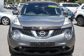 2017 Nissan Juke F15 Series 2 Ti-S 2WD Grey 6 Speed Manual Hatchback.