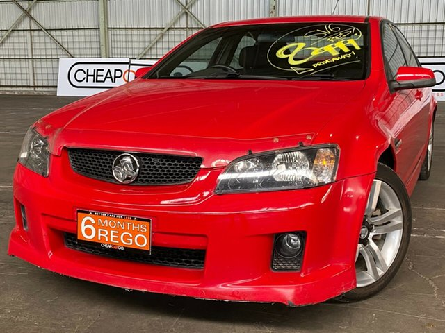 Used Holden Commodore VE SV6 Rocklea, 2006 Holden Commodore VE SV6 Red 5 Speed Sports Automatic Sedan