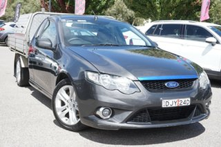 2010 Ford Falcon FG XR6 Super Cab Grey 4 Speed Sports Automatic Cab Chassis.