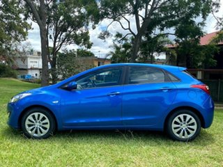 2016 Hyundai i30 GD4 Series II MY17 Active Mariana Blue 6 Speed Sports Automatic Hatchback.