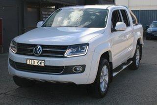 2016 Volkswagen Amarok 2H MY16 TDI400 (4x4) White 8 Speed Automatic Utility.