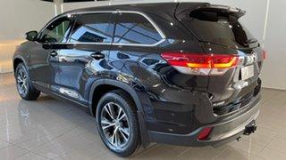 2018 Toyota Kluger GSU55R GX AWD Black 8 Speed Sports Automatic Wagon.