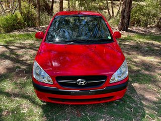 2009 Hyundai Getz TB MY09 S Hip Hop Red 4 Speed Automatic Hatchback