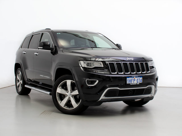 Used Jeep Grand Cherokee WK MY14 Overland (4x4), 2013 Jeep Grand Cherokee WK MY14 Overland (4x4) Black 8 Speed Automatic Wagon