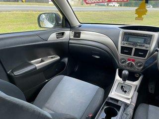 2008 Subaru Impreza G3 MY09 RX AWD White 4 Speed Sports Automatic Sedan