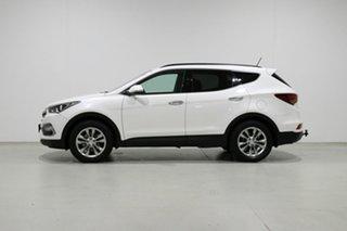 2016 Hyundai Santa Fe DM Series II (DM3) Elite CRDi (4x4) White 6 Speed Automatic Wagon