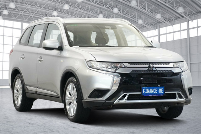 Used Mitsubishi Outlander ZL MY19 ES AWD Victoria Park, 2019 Mitsubishi Outlander ZL MY19 ES AWD Silver 6 Speed Constant Variable Wagon