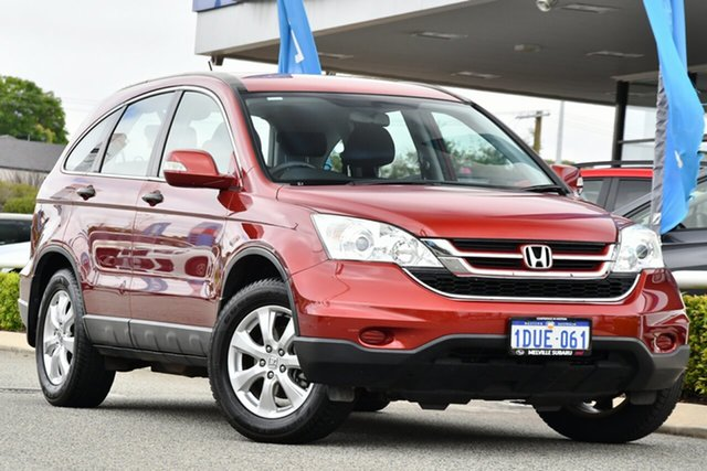 Used Honda CR-V RE MY2011 4WD Melville, 2011 Honda CR-V RE MY2011 4WD Red/Black 5 Speed Automatic Wagon
