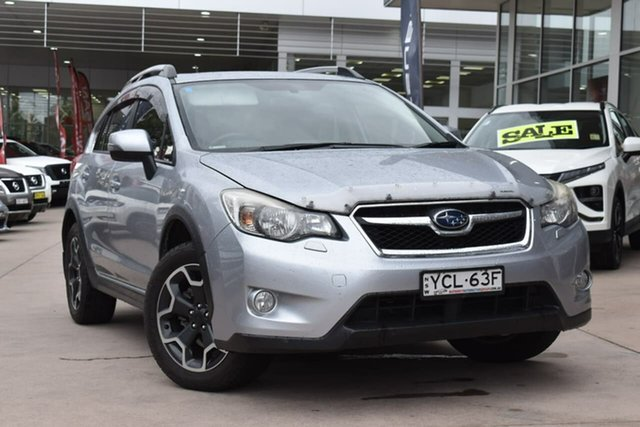 Used Subaru XV G4X MY15 2.0i-S Lineartronic AWD Blacktown, 2015 Subaru XV G4X MY15 2.0i-S Lineartronic AWD Silver 6 Speed Constant Variable Wagon