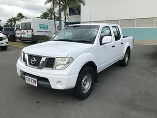 2013 Nissan Navara D40 S7 MY12 RX 4x2 White 5 speed Automatic Utility