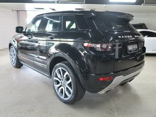 2013 Land Rover Range Rover Evoque L538 MY13 SD4 CommandShift Dynamic Black 6 Speed Sports Automatic