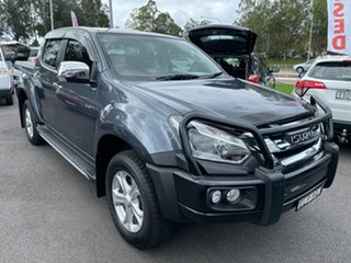 2019 Isuzu D-MAX MY19 LS-U Crew Cab Grey 6 Speed Sports Automatic Utility.