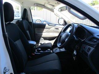 2017 Mitsubishi Triton MQ MY17 GLX White 5 Speed Sports Automatic Cab Chassis