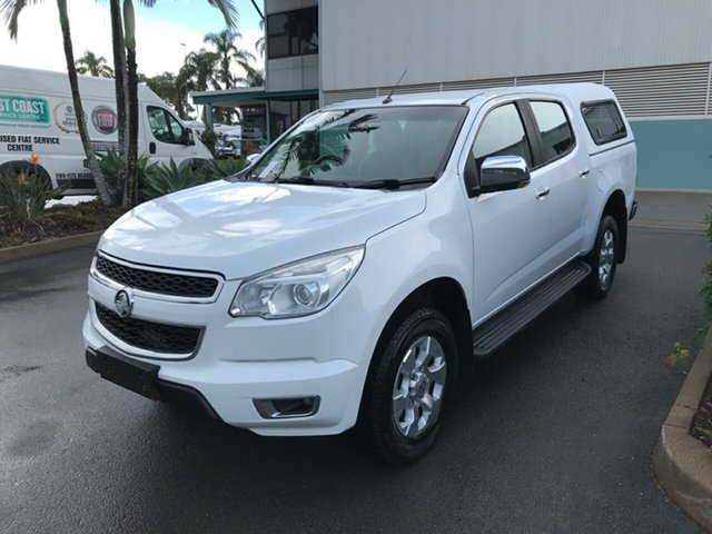 Used Holden Colorado RG MY15 LTZ Crew Cab 4x2 Acacia Ridge, 2015 Holden Colorado RG MY15 LTZ Crew Cab 4x2 White 6 speed Manual Utility
