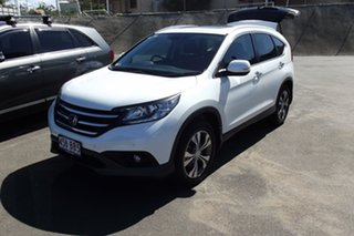 2014 Honda CR-V RM MY15 VTi-L 4WD White 5 Speed Sports Automatic Wagon.