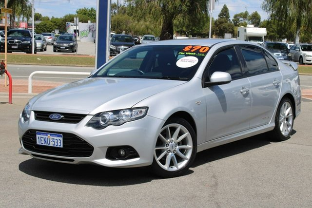 Used Ford Falcon FG MkII XR6 Midland, 2013 Ford Falcon FG MkII XR6 Silver 6 Speed Sports Automatic Sedan