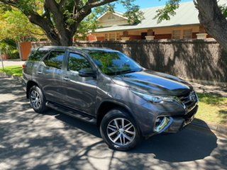 2018 Toyota Fortuner GUN156R Crusade Grey 6 Speed Automatic Wagon.