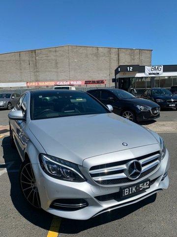 Used Mercedes-Benz C200 205 Cheltenham, 2015 Mercedes-Benz C200 205 7 Speed Automatic Sedan