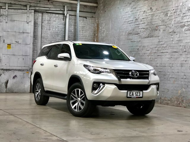 Used Toyota Fortuner GUN156R Crusade Mile End South, 2017 Toyota Fortuner GUN156R Crusade White 6 Speed Automatic Wagon