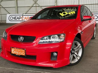 2010 Holden Commodore VE MY10 SV6 Red 6 Speed Sports Automatic Sedan.