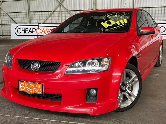 Used Holden Commodore VE MY10 SV6 Rocklea, 2010 Holden Commodore VE MY10 SV6 Red 6 Speed Sports Automatic Sedan