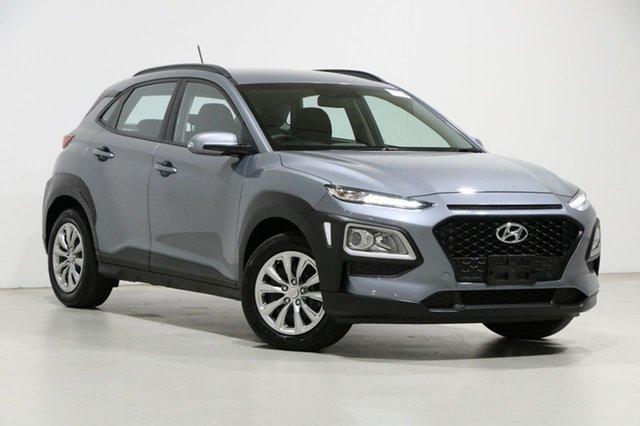 Used Hyundai Kona OS.2 MY19 GO (FWD) Bentley, 2019 Hyundai Kona OS.2 MY19 GO (FWD) Silver 6 Speed Automatic Wagon