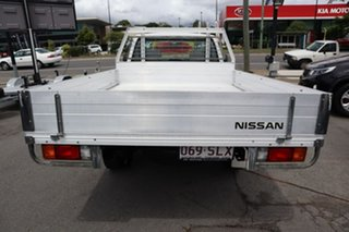 2012 Nissan Navara D22 S5 DX 4x2 White 5 Speed Manual Cab Chassis