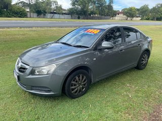 2009 Holden Cruze JG CD Grey 6 Speed Sports Automatic Sedan.