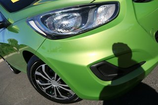 2013 Hyundai Accent RB Active Apple Green 5 Speed Manual Hatchback.