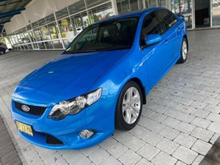 2010 Ford Falcon XR6 Blue Sports Automatic Sedan.