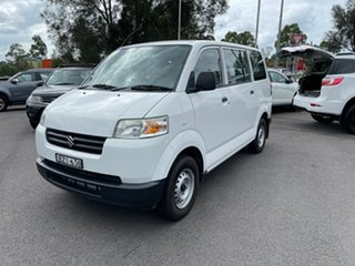 2013 Suzuki APV White 5 Speed Manual Van.