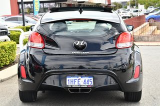 2012 Hyundai Veloster FS2 Coupe D-CT Black 6 Speed Sports Automatic Dual Clutch Hatchback
