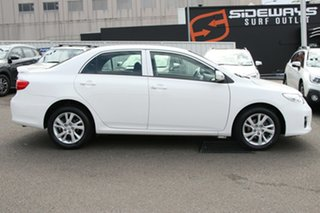 2012 Toyota Corolla ZRE152R MY11 Ascent Sport White 4 Speed Automatic Sedan
