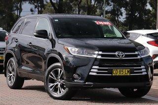 2016 Toyota Kluger GSU55R GX AWD Black 6 Speed Sports Automatic SUV.