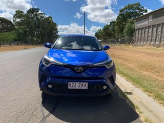 2019 Toyota C-HR NGX10R Koba S-CVT 2WD Nebula Blue 7 Speed Constant Variable Wagon.