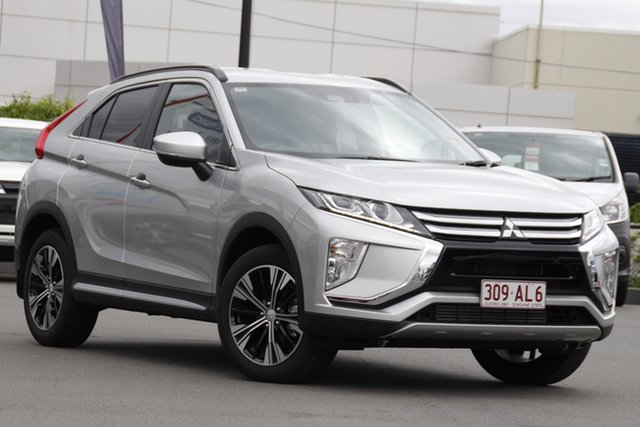 Demo Mitsubishi Eclipse Cross YA MY20 LS 2WD Mount Gravatt, 2020 Mitsubishi Eclipse Cross YA MY20 LS 2WD Sterling Silver 8 Speed Constant Variable Wagon