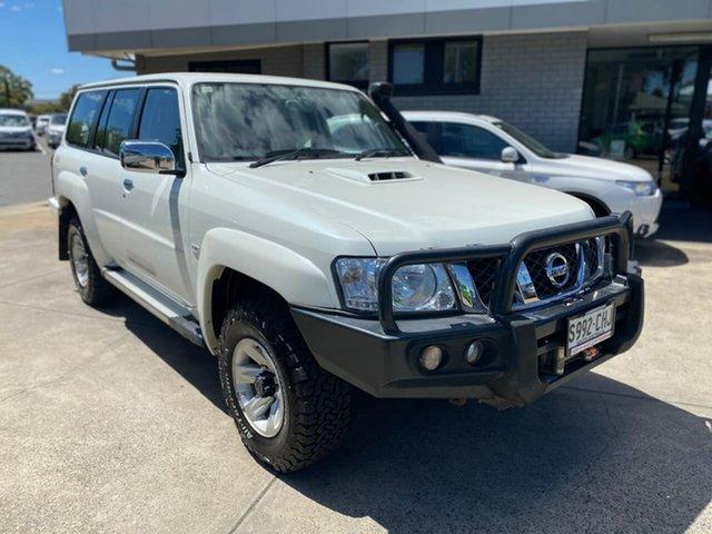 Used Nissan Patrol Y61 GU 9 ST Hillcrest, 2015 Nissan Patrol Y61 GU 9 ST White 5 Speed Manual Wagon