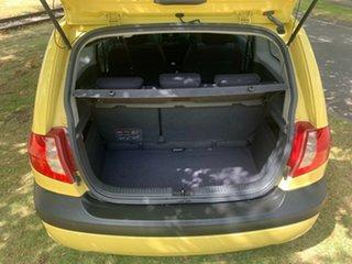 2007 Hyundai Getz TB MY07 SX Yellow 5 Speed Manual Hatchback