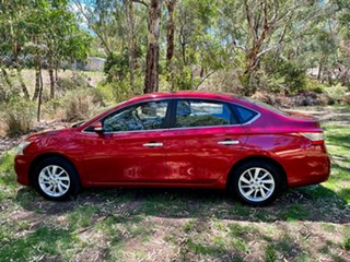 2014 Nissan Pulsar B17 ST Red 1 Speed Constant Variable Sedan.