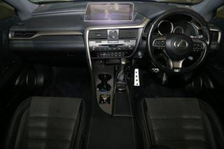 2017 Lexus RX GGL25R RX350 F Sport Cobalt 8 Speed Sports Automatic Wagon