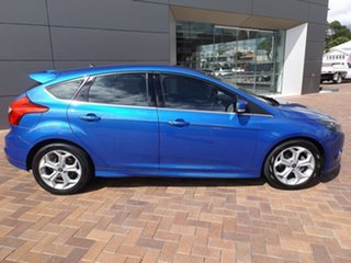 2012 Ford Focus LW Sport PwrShift Blue 6 Speed Sports Automatic Dual Clutch Hatchback.